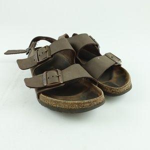 Birkenstock Men Leather Milano Sandals R4S3
